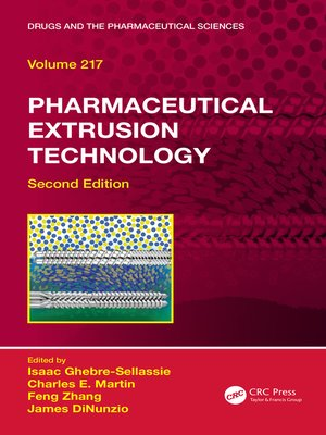 cover image of Pharmaceutical Extrusion Technology