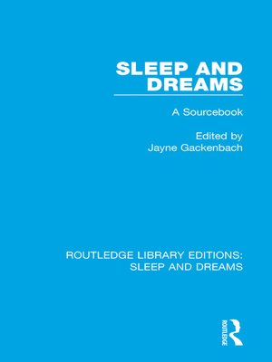 cover image of Sleep and Dreams