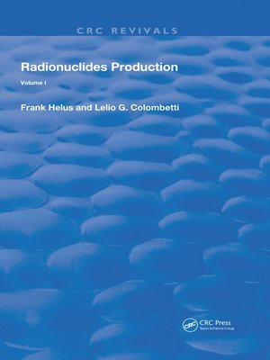 cover image of Radionuclides Production