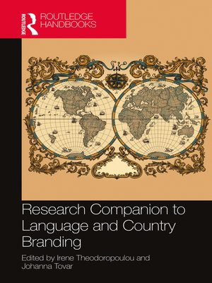cover image of Research Companion to Language and Country Branding