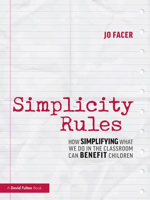 cover image of Simplicity Rules