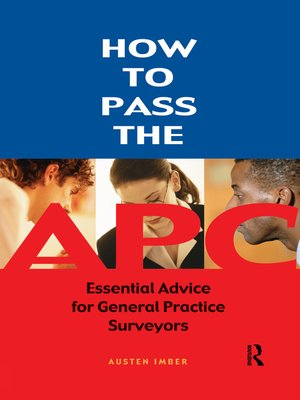 cover image of How to pass the APC