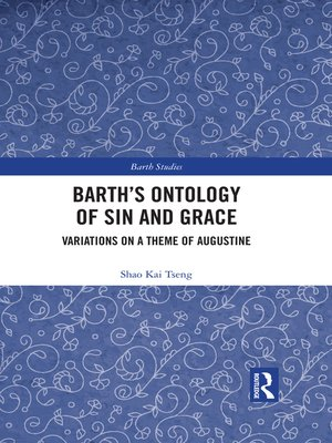 cover image of Barth's Ontology of Sin and Grace