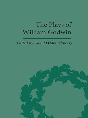 cover image of The Plays of William Godwin