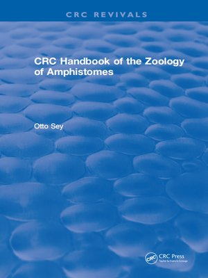 cover image of CRC Handbook of the Zoology of Amphistomes