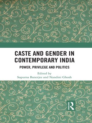 cover image of Caste and Gender in Contemporary India