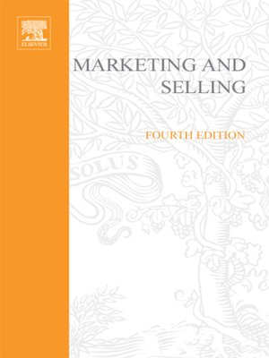 cover image of Marketing and Selling
