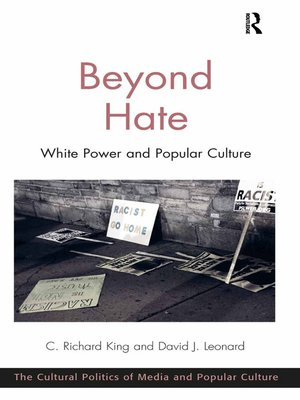 cover image of Beyond Hate