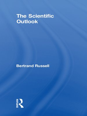 cover image of The Scientific Outlook