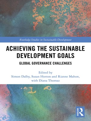 cover image of Achieving the Sustainable Development Goals