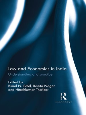 cover image of Law and Economics in India