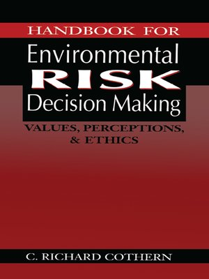 cover image of Handbook for Environmental Risk Decision Making