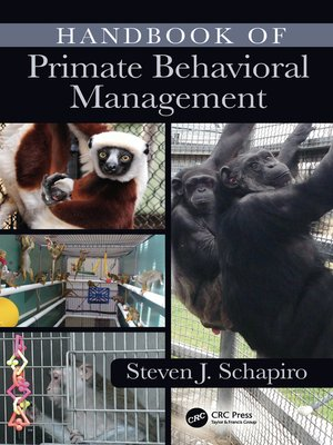 cover image of Handbook of Primate Behavioral Management