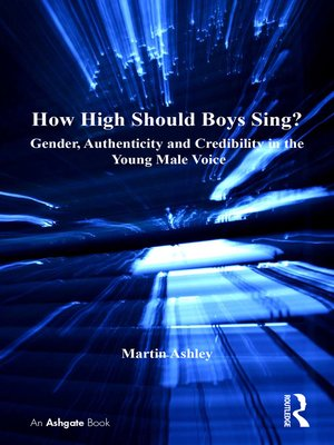 cover image of How High Should Boys Sing?