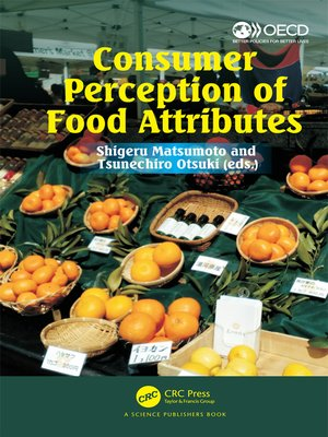 cover image of Consumer Perception of Food Attributes