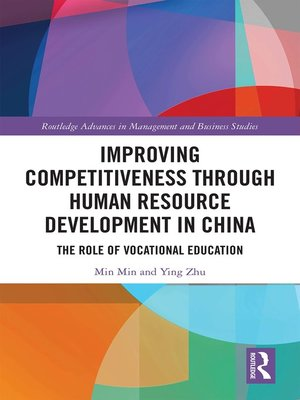 cover image of Improving Competitiveness through Human Resource Development in China