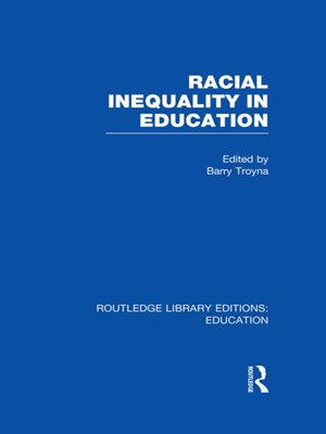 cover image of Racial Inequality in Education