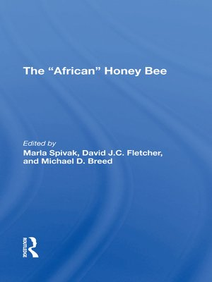 cover image of The african Honey Bee