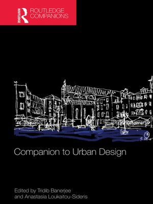 cover image of Companion to Urban Design