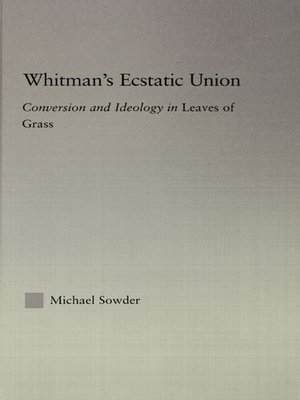 cover image of Whitman's Ecstatic Union
