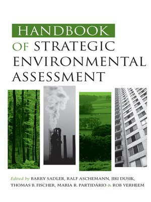cover image of Handbook of Strategic Environmental Assessment