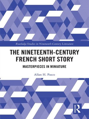 cover image of The Nineteenth-Century French Short Story