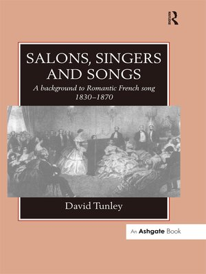 cover image of Salons, Singers and Songs