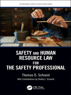 cover image of Safety and Human Resource Law for the Safety Professional