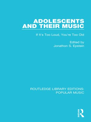 cover image of Adolescents and their Music