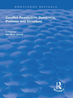 cover image of Conflict Resolution