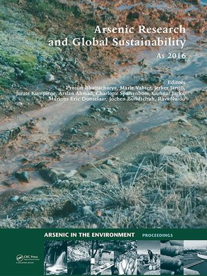cover image of Arsenic Research and Global Sustainability