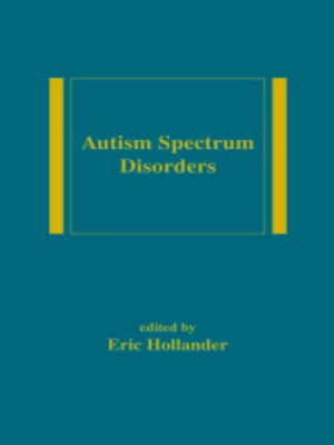 cover image of Autism Spectrum Disorders