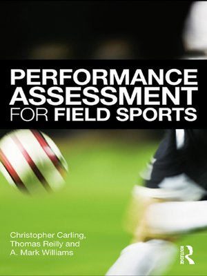 cover image of Performance Assessment for Field Sports