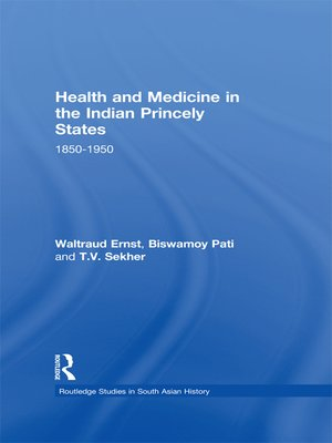 cover image of Health and Medicine in the Indian Princely States