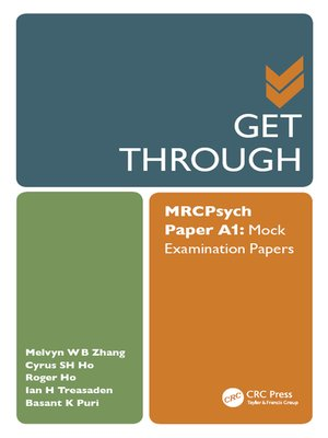 cover image of Get Through MRCPsych Paper A1