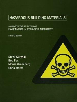 cover image of Hazardous Building Materials
