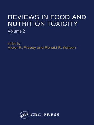 cover image of Reviews in Food and Nutrition Toxicity, Volume 2