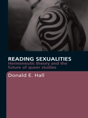 cover image of Reading Sexualities