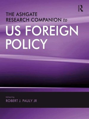 cover image of The Ashgate Research Companion to US Foreign Policy