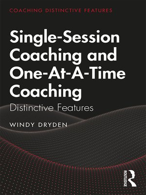 cover image of Single-Session Coaching and One-At-A-Time Coaching