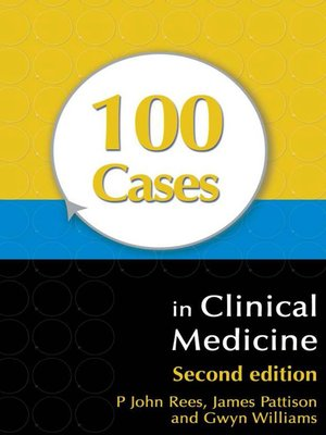 cover image of 100 Cases in Clinical Medicine