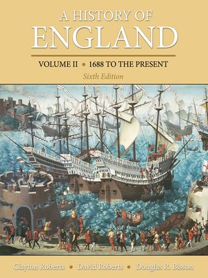 cover image of A History of England, Volume 2
