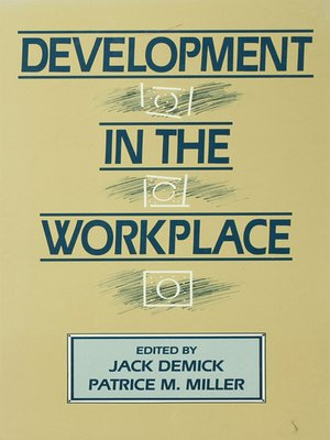 cover image of Development in the Workplace