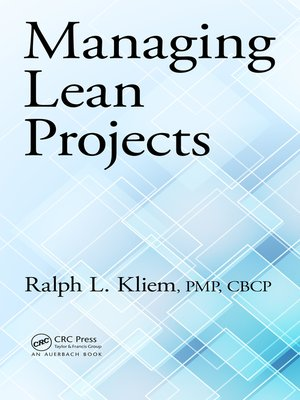 cover image of Managing Lean Projects