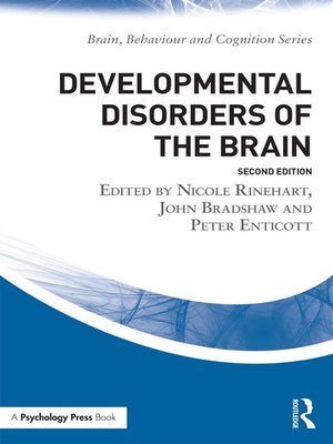 cover image of Developmental Disorders of the Brain