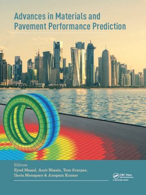 cover image of Advances in Materials and Pavement Prediction