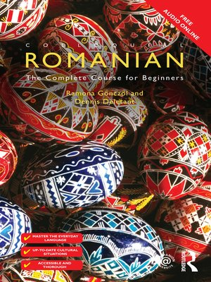 cover image of Colloquial Romanian