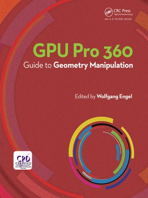 cover image of GPU Pro 360 Guide to Geometry Manipulation