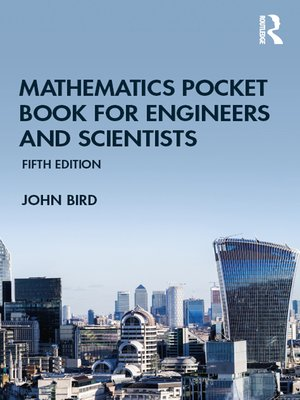 cover image of Mathematics Pocket Book for Engineers and Scientists