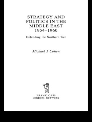 cover image of Strategy and Politics in the Middle East, 1954-1960